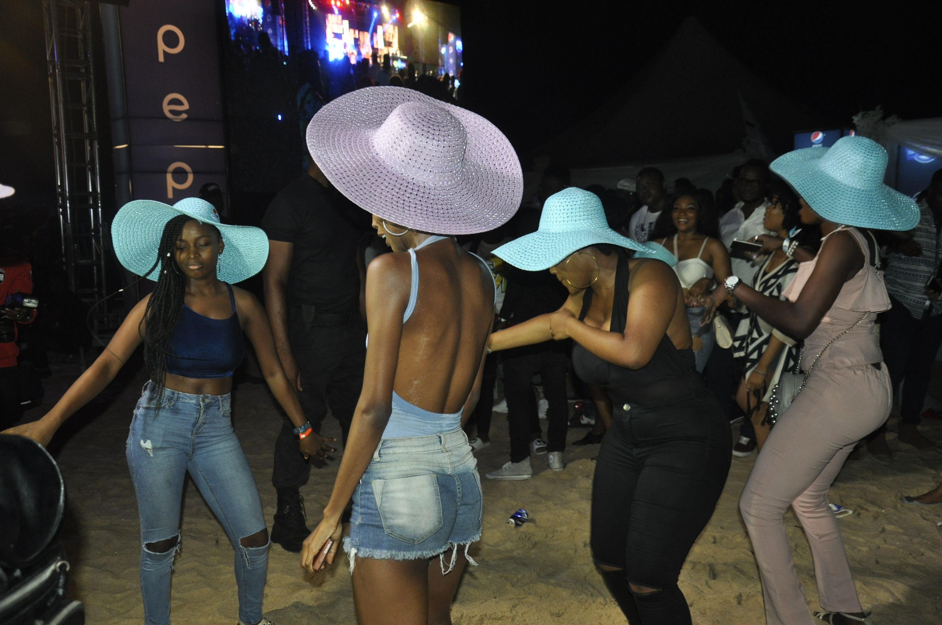 On the Beach with Wizkid, Mr Eazi, Tiwa Savage and Wande Coal -